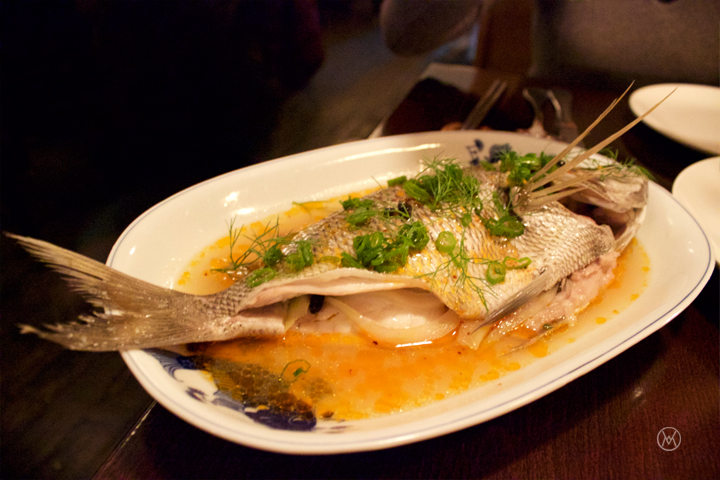 Whole Steamed Fish with Fennel, Tangerine Peel, Chili Oil, and Fermented Black Beans