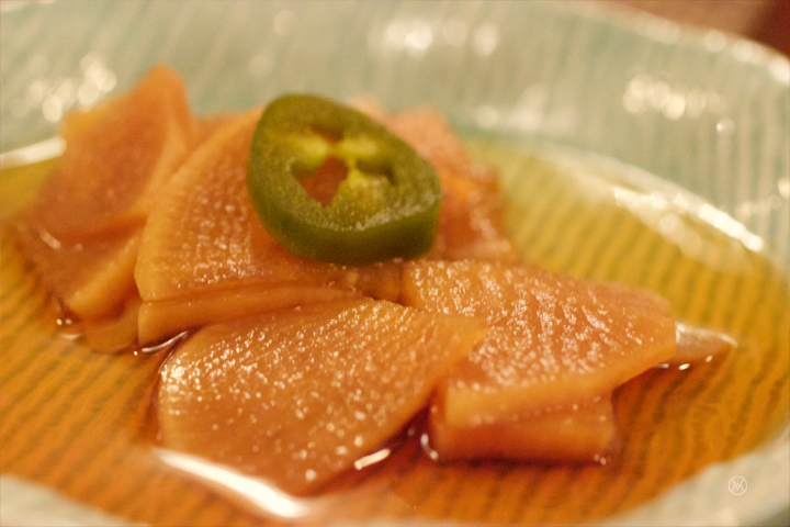 pickled daikon, awesome!!!
