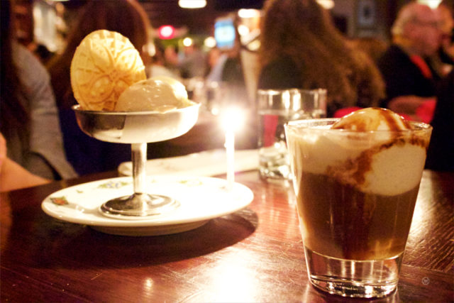 Trio of  Gelato and AFFOGATO