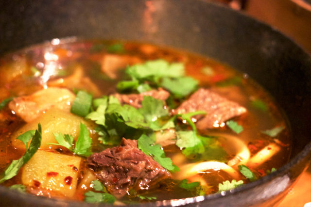 Taiwanese Style Beef Soup Noodle